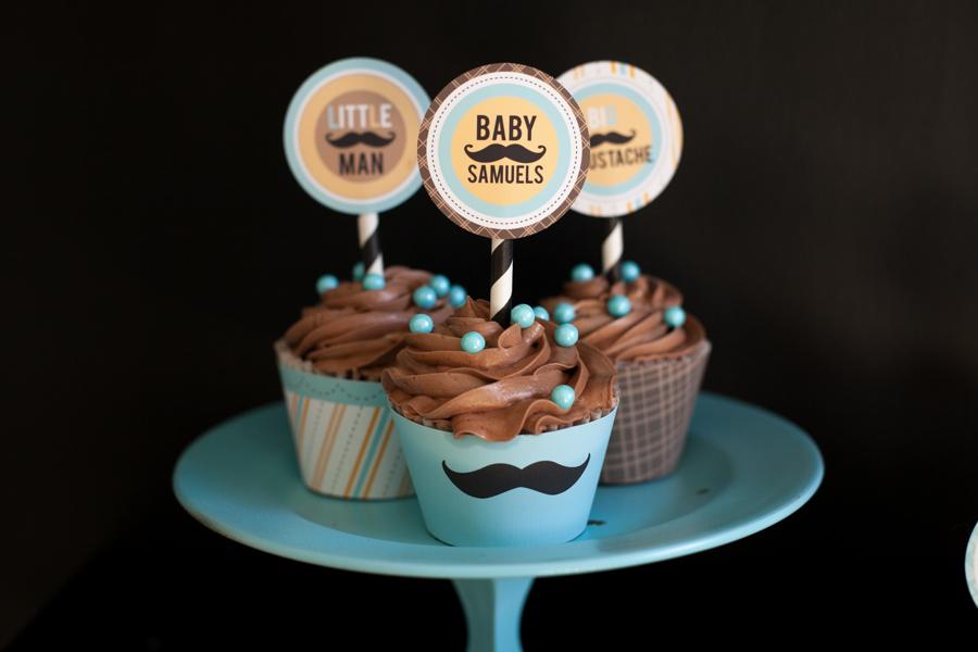 mustache baby shower 13