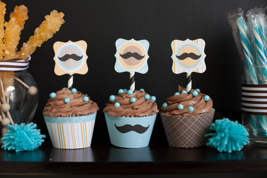 Mustache Bash Baby Shower Real Party Frog Prince Paperie