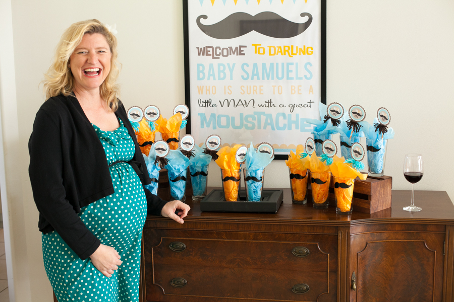 Mustache Bash Baby Shower