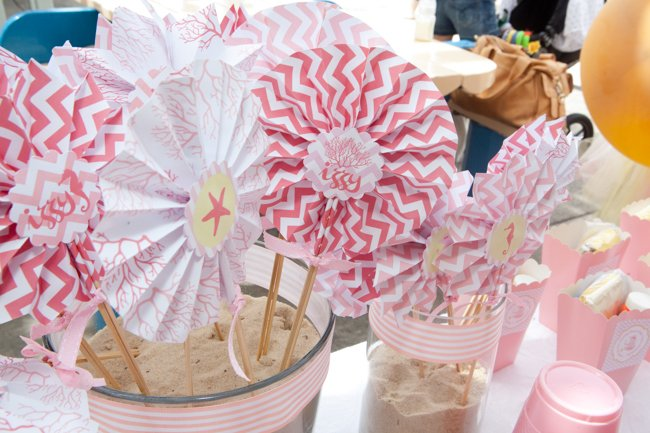 Beside the Seaside Beach Birthday Party {Real Party}