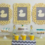 A Modern Duck Baby Shower