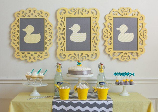 duck themed baby showers will always be in style it s a theme that can