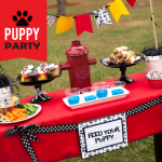 Puppy Party Playdate on a Budget