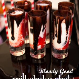 Twilight Bloody Good Vampire Milkshake Shots