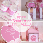 Free Breast Cancer Awareness Month Printables