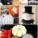 No Carve No Cut Pumpkin Projects