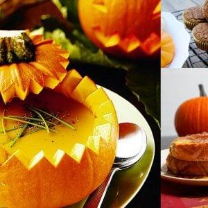 Pumpkin Recipe Round-Up