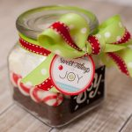 Handmade Holiday – Chalkboard Jar and Sweet Tidings