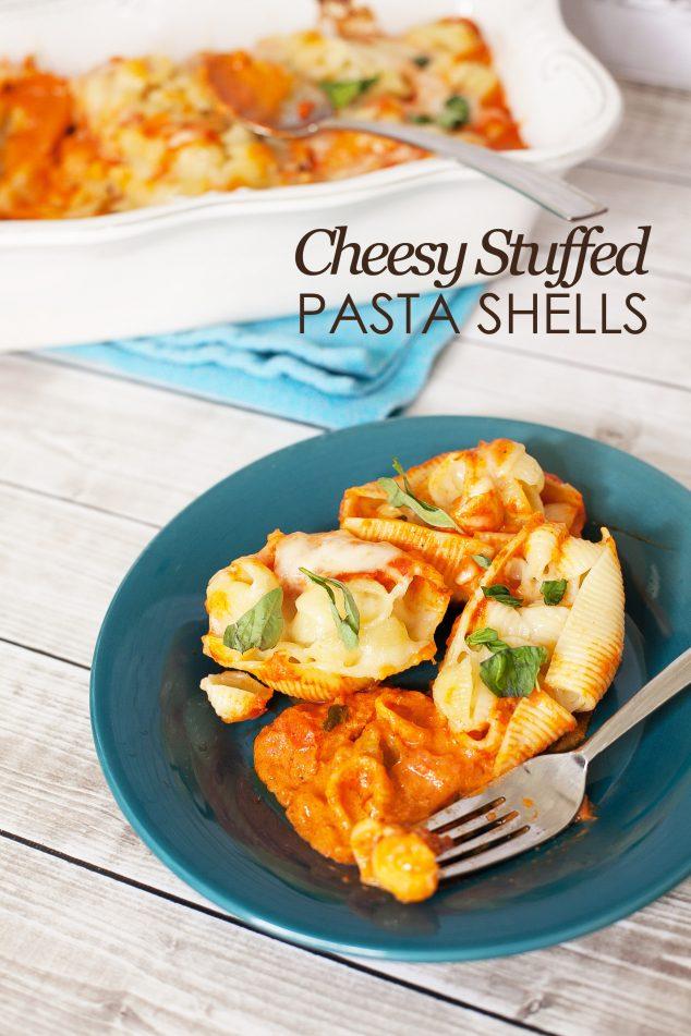 cheesy stuffed shells-4 copy