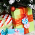 Handmade Holiday Party Hop – DIY Gift Wrapping and Holiday Banners