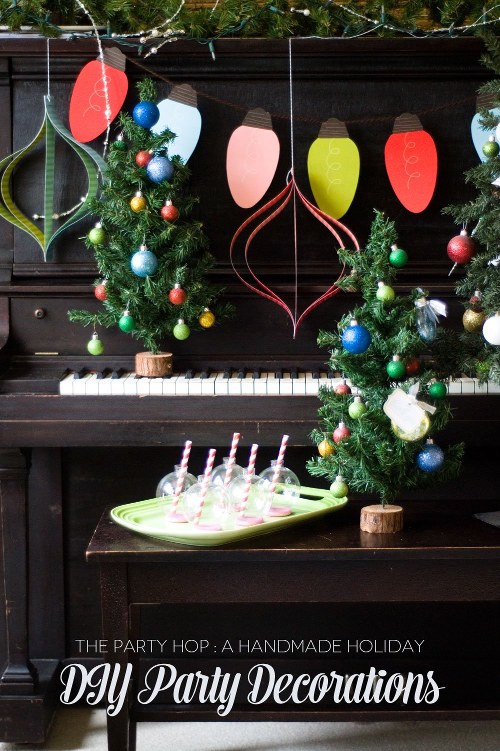 Handmade Holiday - DIY Party Decorations - Frog Prince Paperie