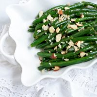 Garlic Green Beans, a Gluten-Free Holiday Side Dish