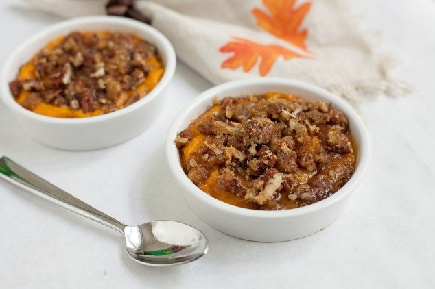 gluten free thanksgiving - - sweet potato soufflé