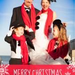 Creative Christmas Card Family Photos