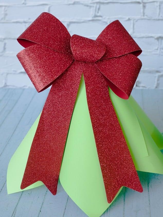 christmas paper cone tree-14