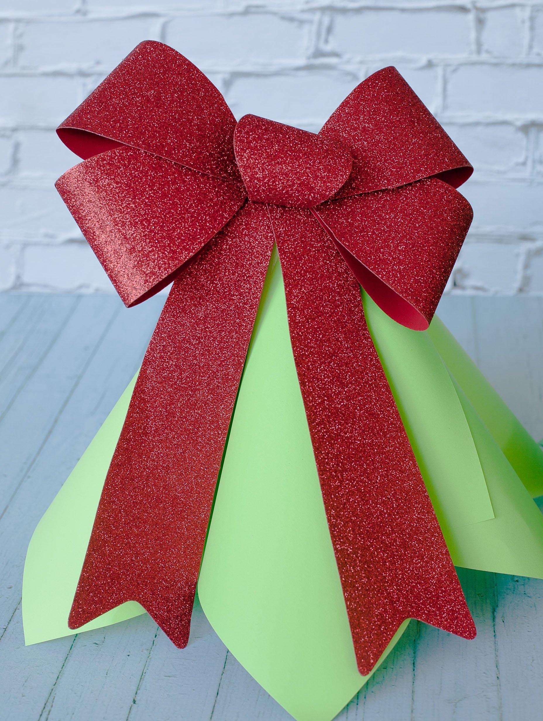 Giant Christmas Bow
