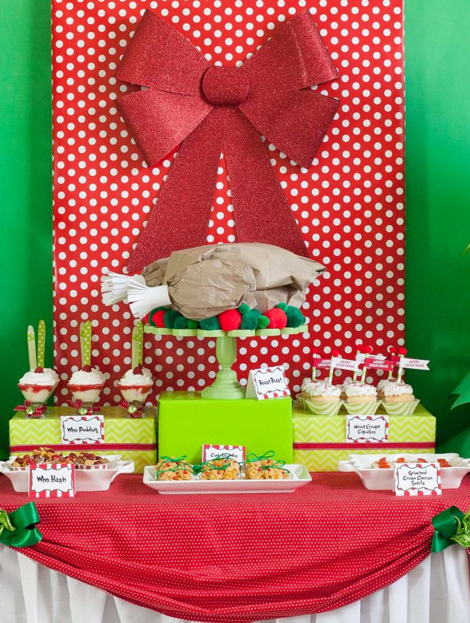 The Grinch who Stole Christmas Whoville Party