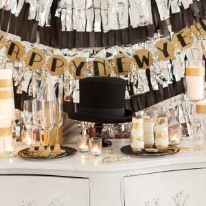 New Year's Eve Party Ideas: NYE Party Decorating