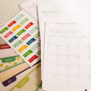 Homemade Gifts Crafted Quick: Michael's Scrapbook Calendar