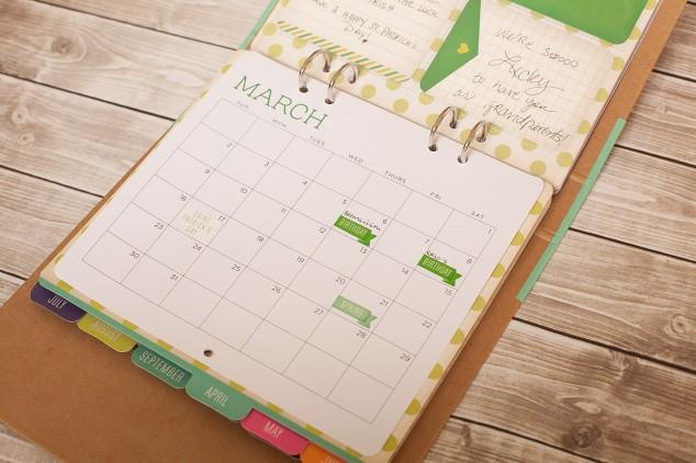 scrapbook calendar-7