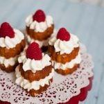 Valentine's Day Dessert – Pound Cake Hearts