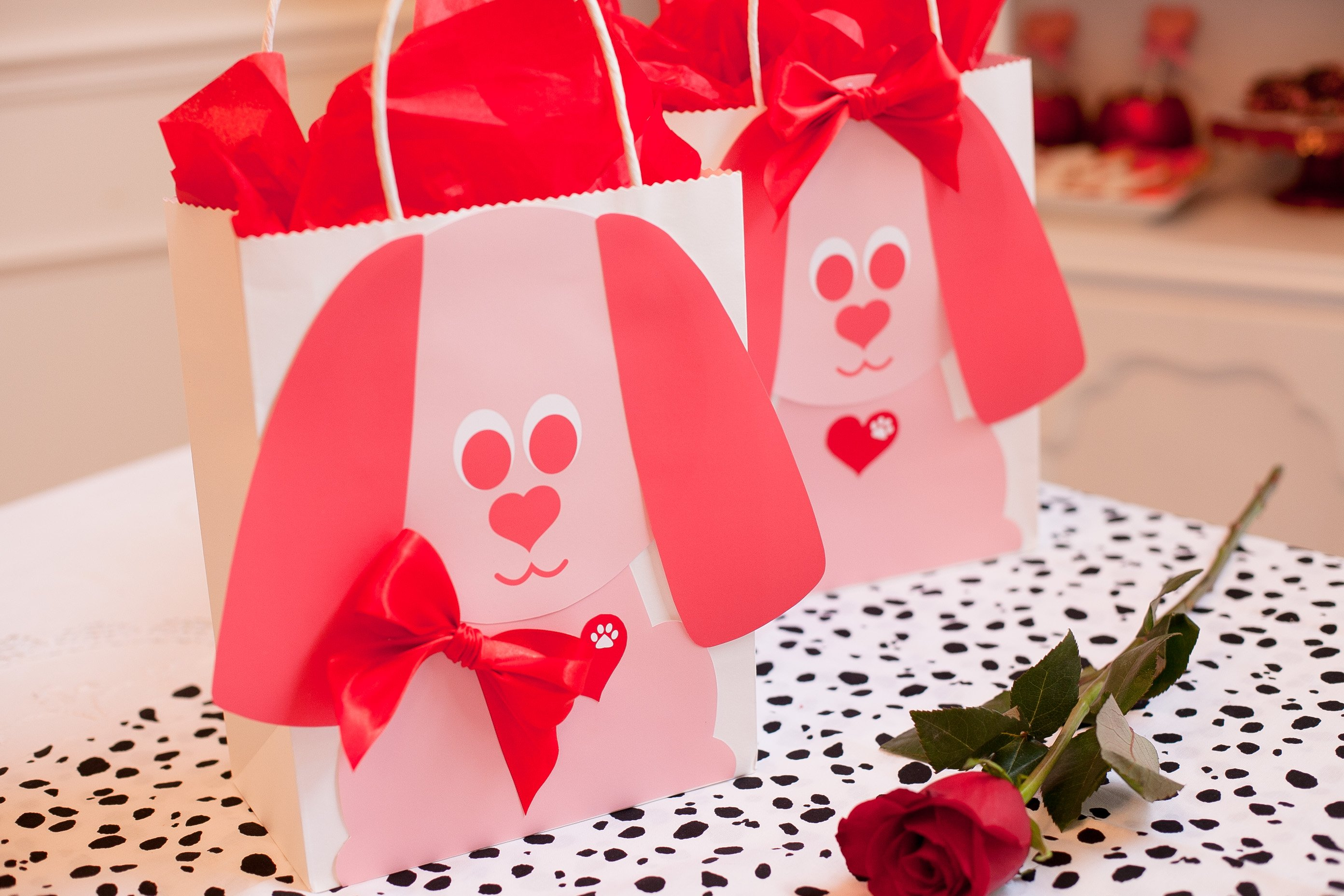 """valentine's day """"doggie"""" bags for gift giving - frog prince paperie, Ideas"""