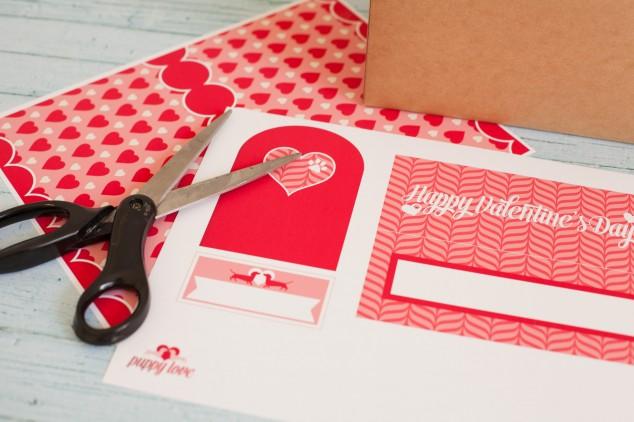 Puppy love valentine mailbox-1