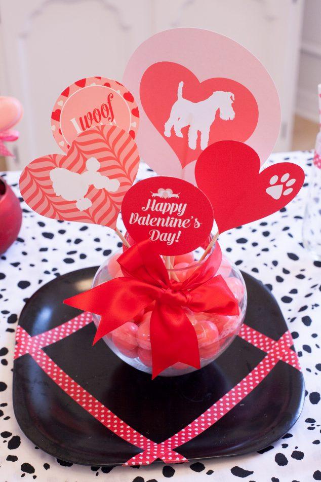 puppy love valentine party-52