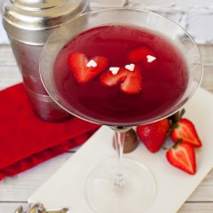 True Love Valentines Day Martini