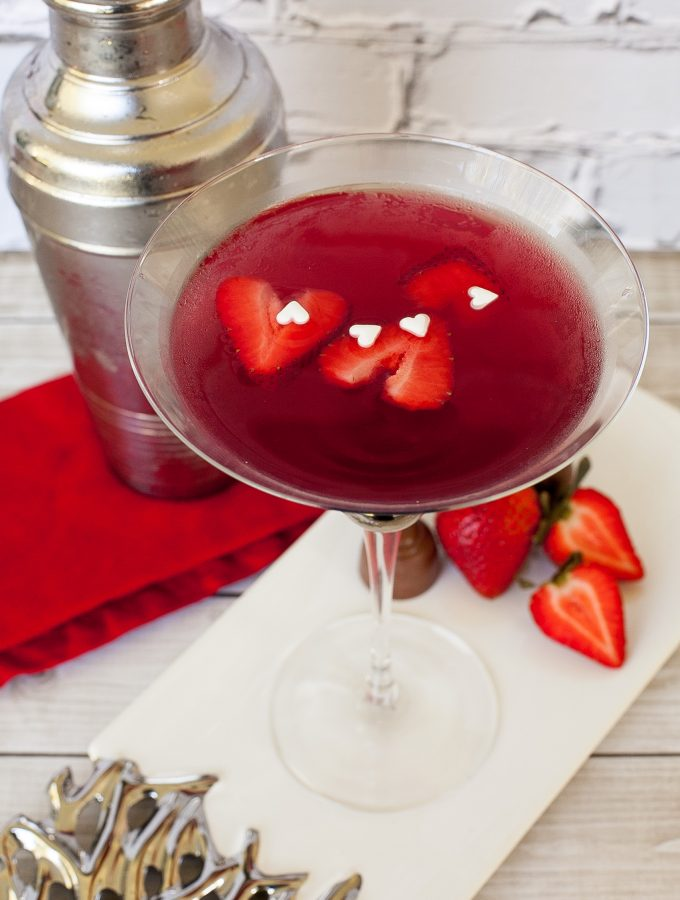 True Love Valentines Day Martini
