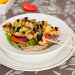 What to Make for Dinner: Chicken Teriyaki Pineapple Skewers