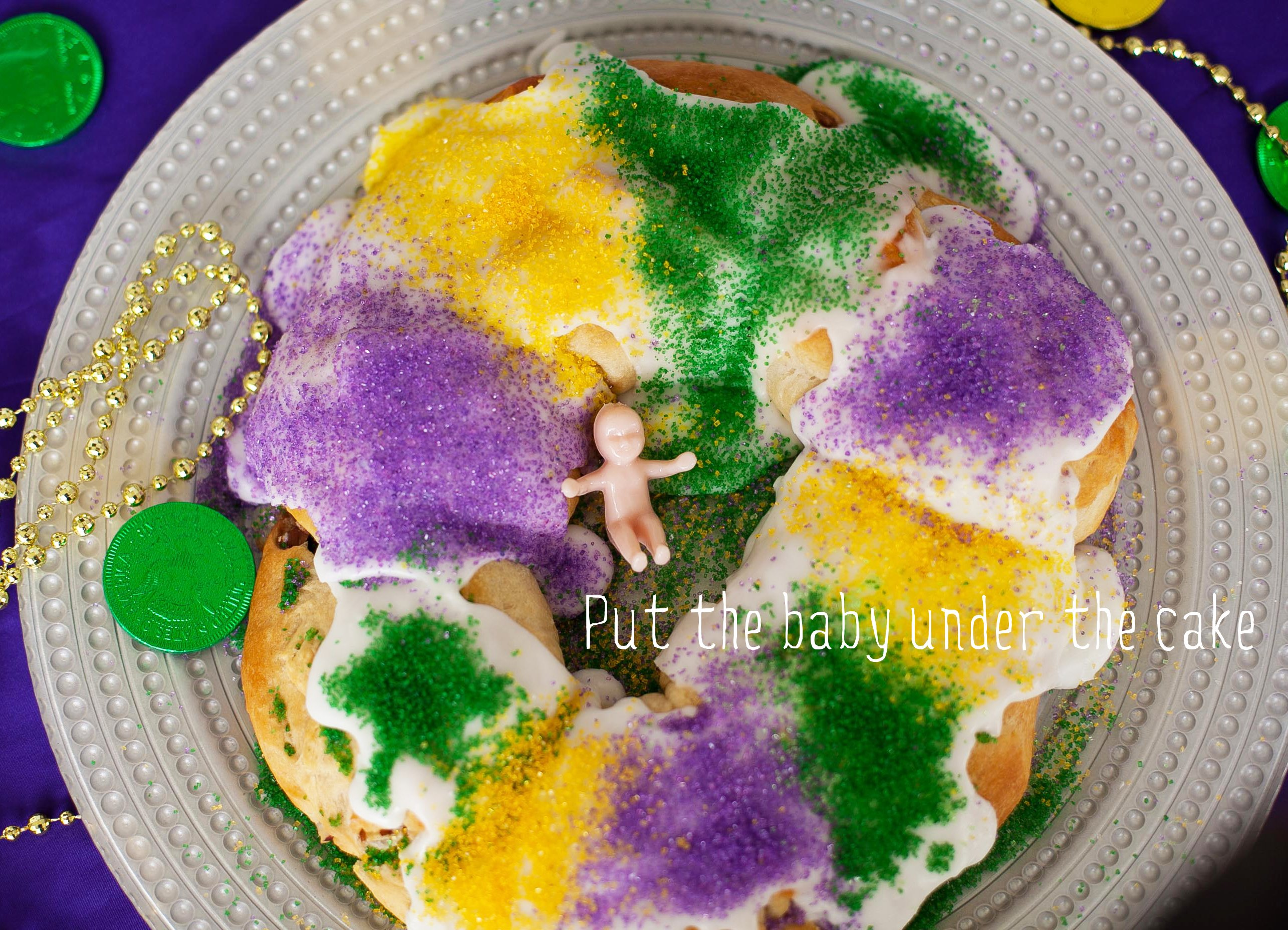 Watch King Cake video