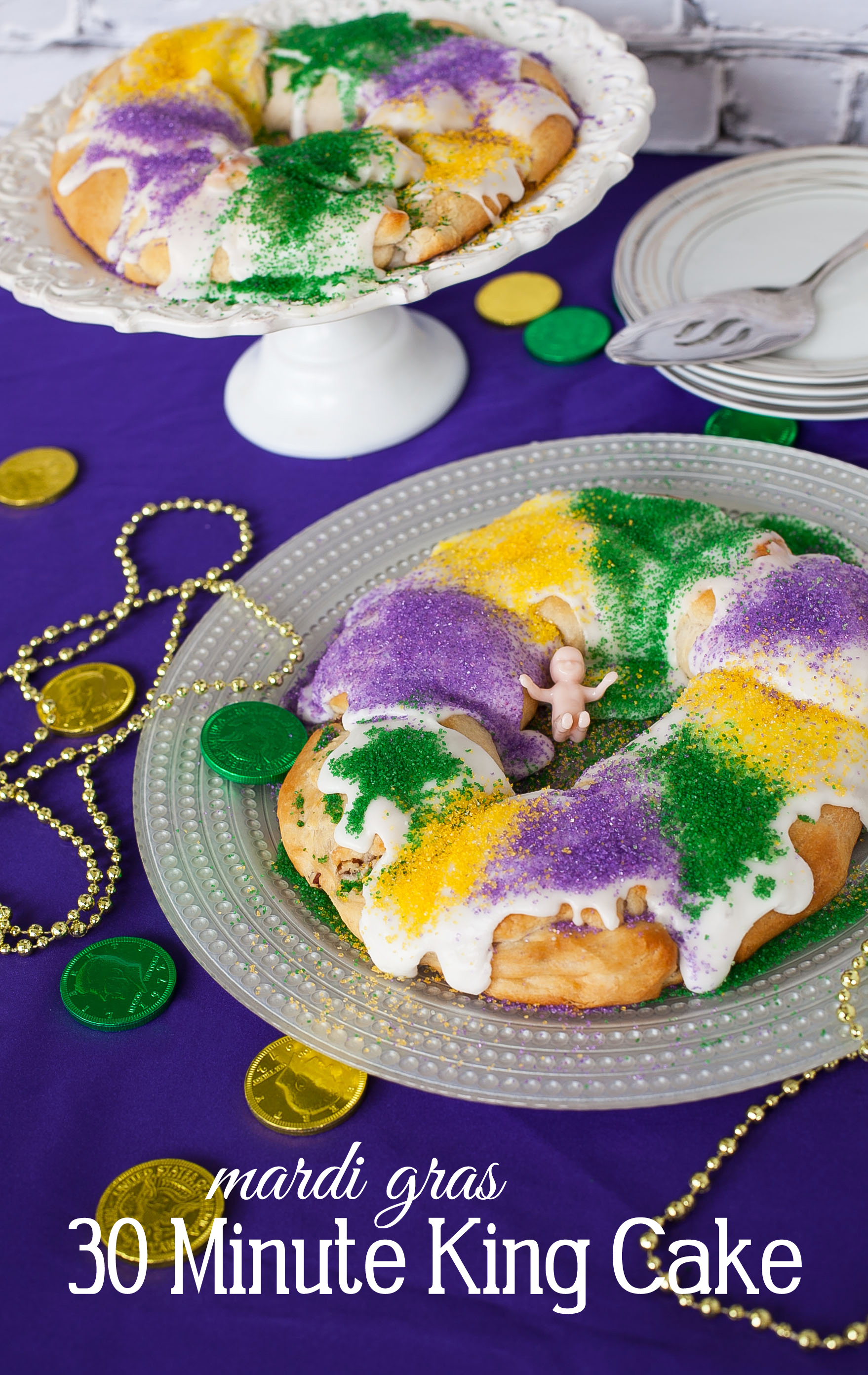 king cake recipe easy 30 minute king cake recipe for mardi gras frog 5318