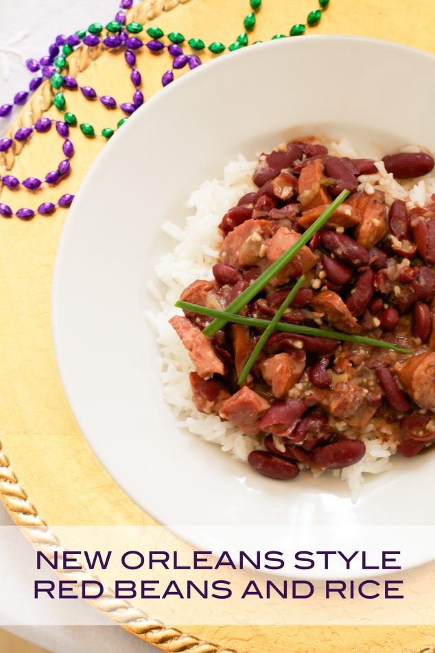 Red beans and rice recipe for mardi
