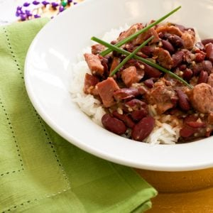 New Orleans Style Red Beans and Rice – Celebrating Mardi Gras