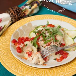 Ad: Family Meal – Gluten-Free Chicken Bruschetta with Tyson's