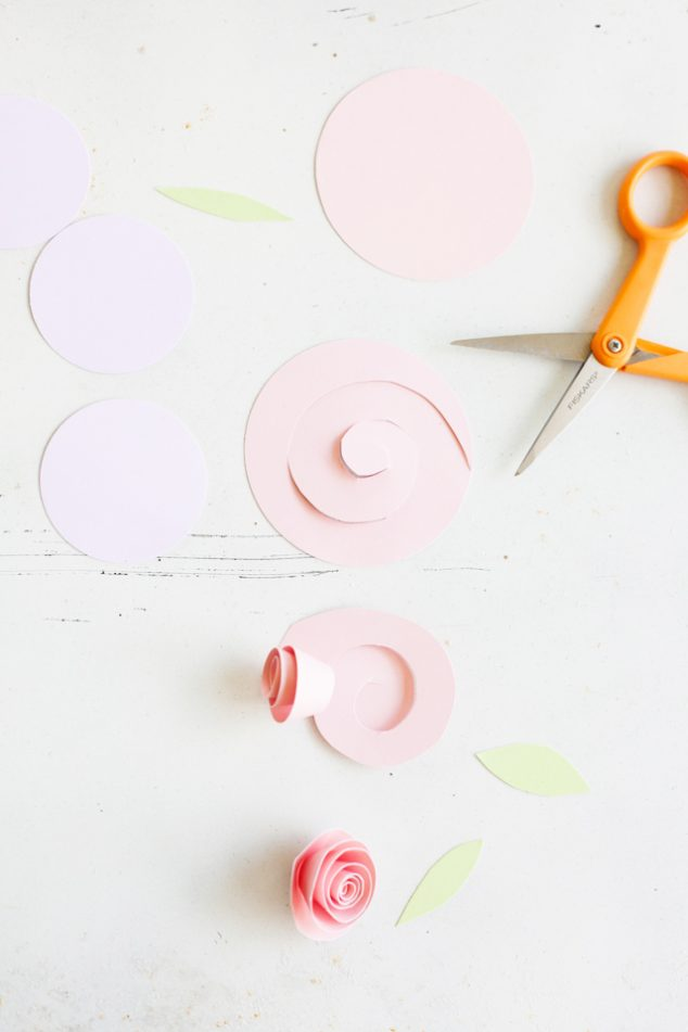 how to make-rolled-paper-flowers 2