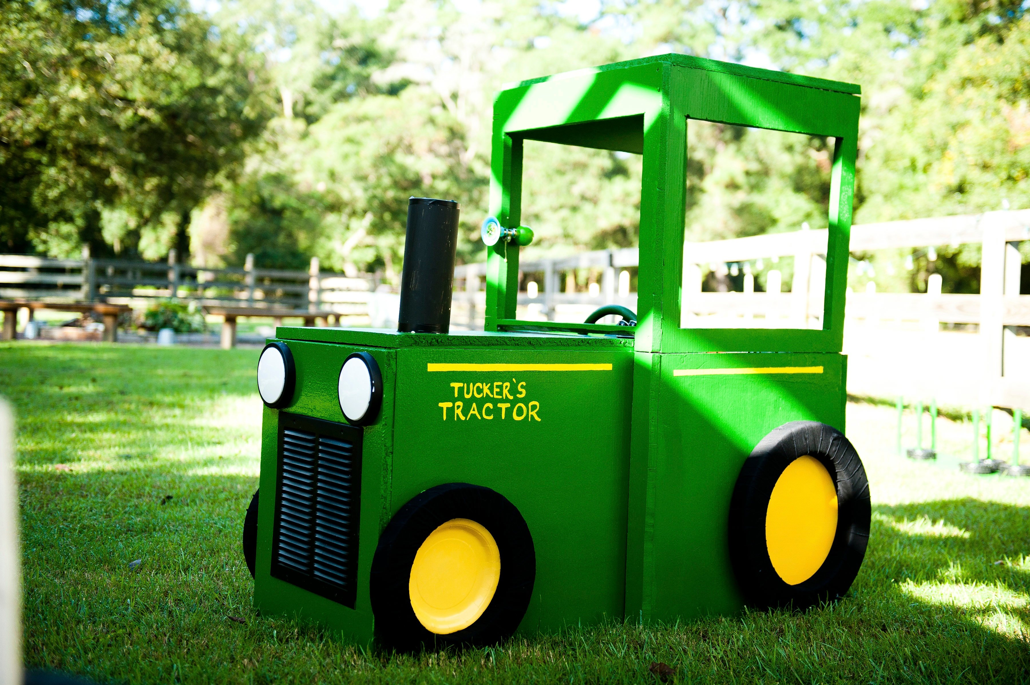 Farm Animals And Tractor S Birthday Party Frog Prince