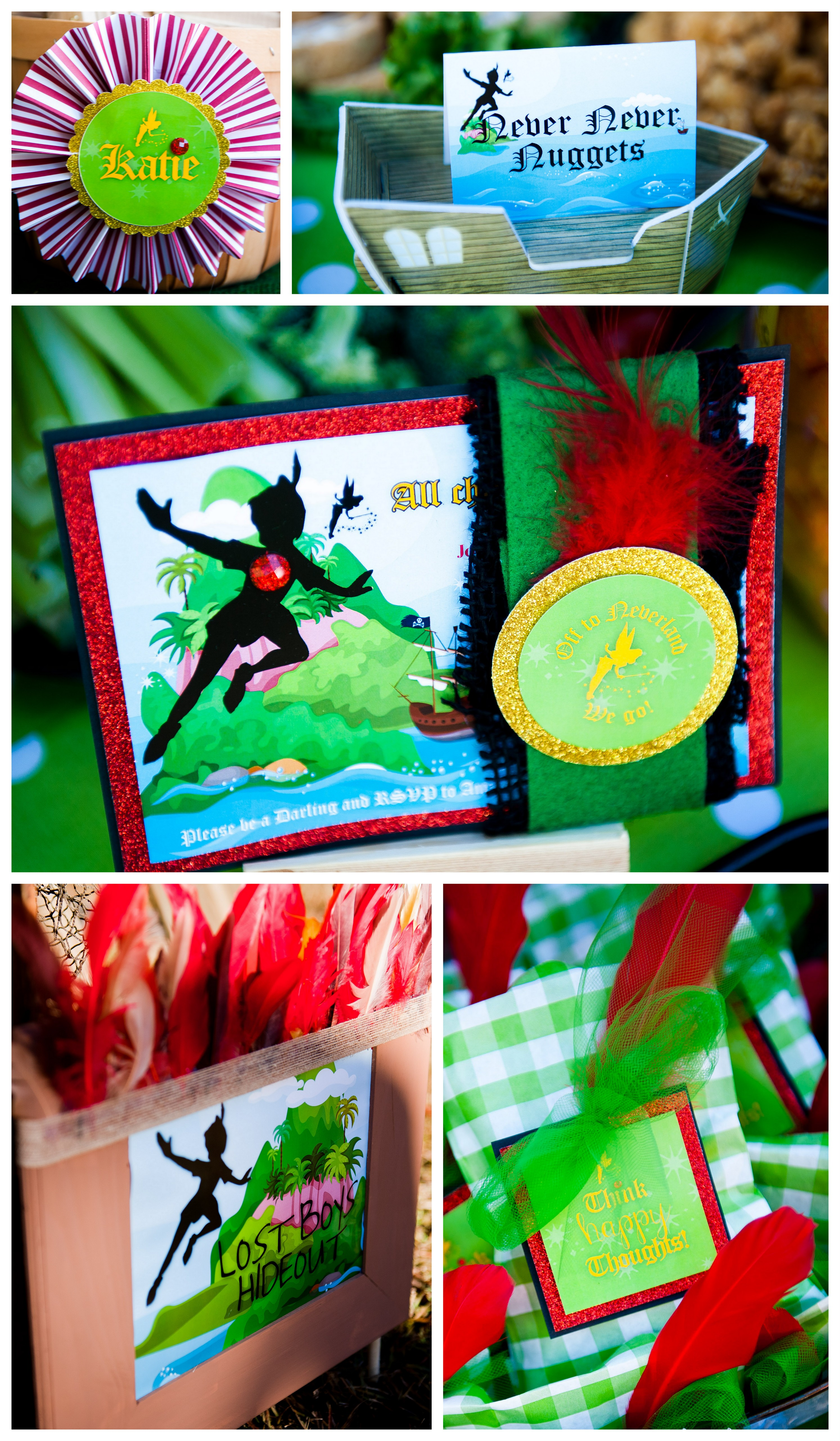 Neverland Birthday Party Recap Frog Prince Paperie