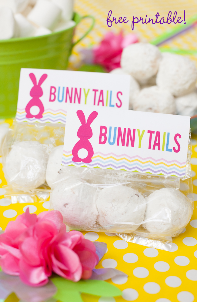 Free easter printable bunny tails favor frog prince paperie bunny tail free easter printable 13 negle Images