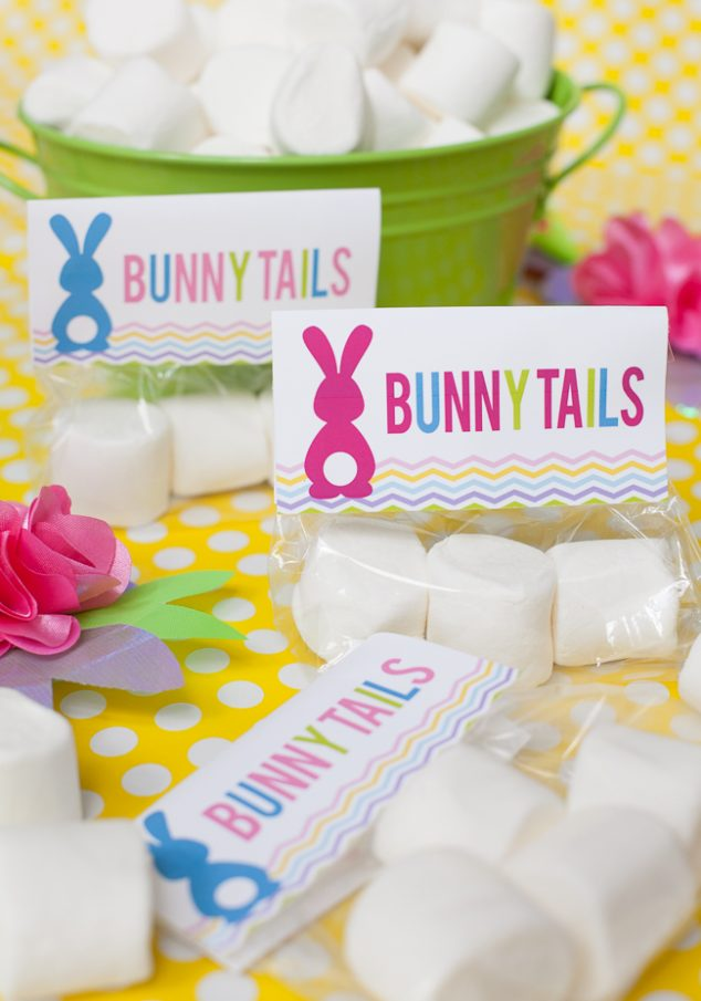bunny tail free easter printable-20