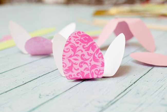 dove mothers day DIY paper flower tulip folding