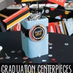 Graduation Party Centerpiece Tutorial and Free Printables