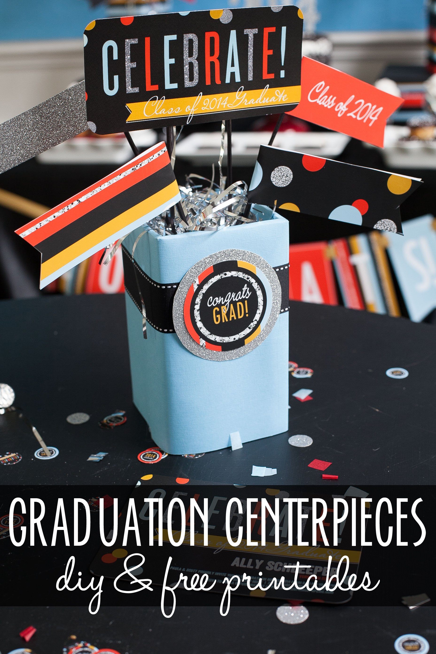 Table Decorations For Graduation Party Pictures to pin on Pinterest