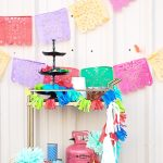 Papel Picado Banners for the Cinco De Mayo Party Hop – Day 2!