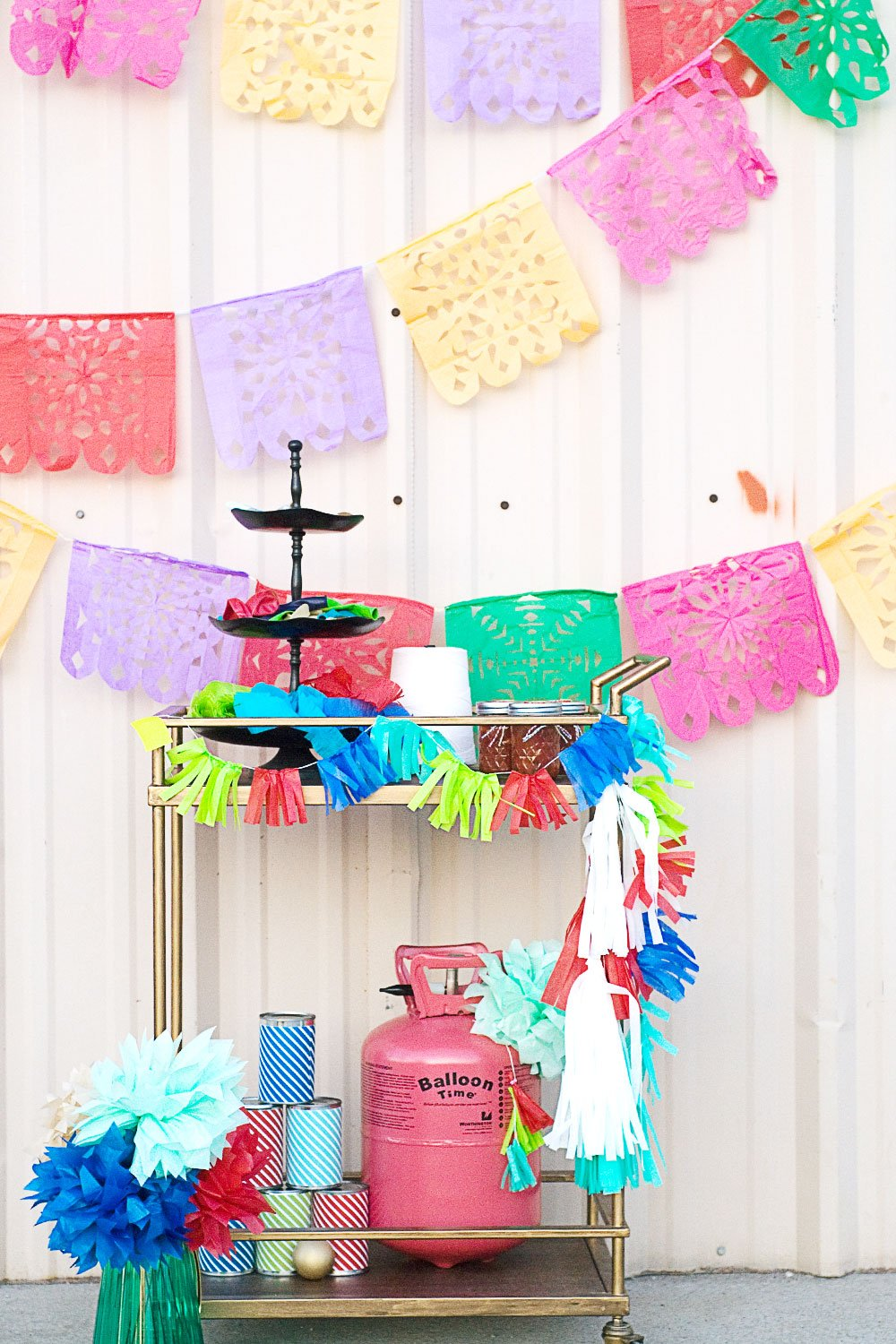 Papel Picado Banners For The Cinco De Mayo Party Hop Day