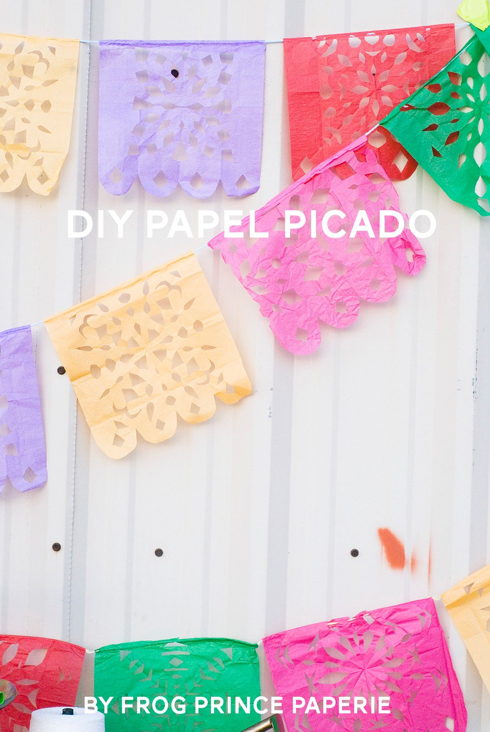 DIY Papel Picado by Paula Biggs
