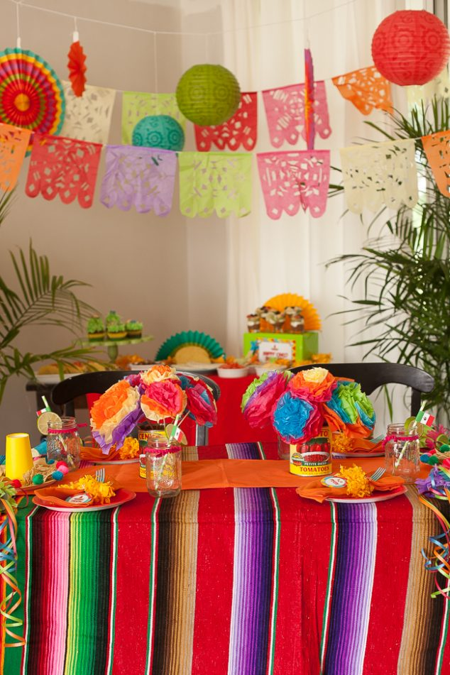 Cinco de Mayo kid's party fiesta