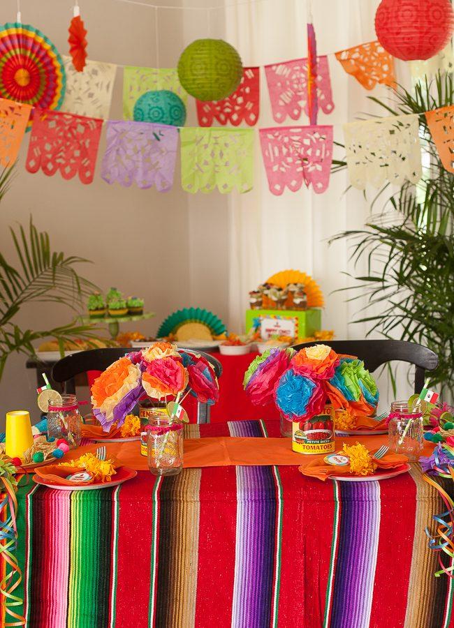 Cinco de Mayo kid's party fiesta