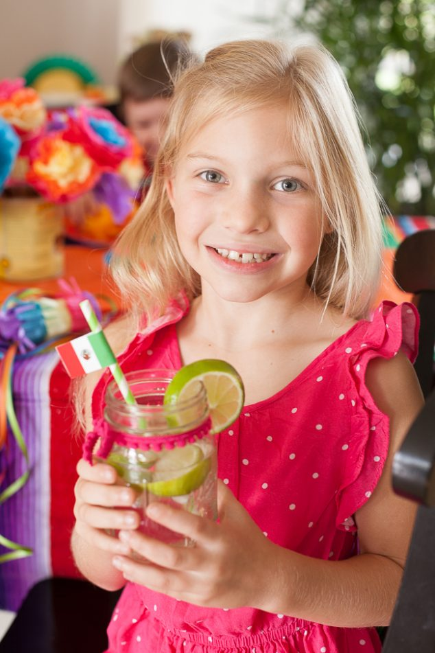 cinco de mayo kids party limeade